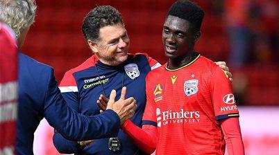 Adelaide United name interim coach