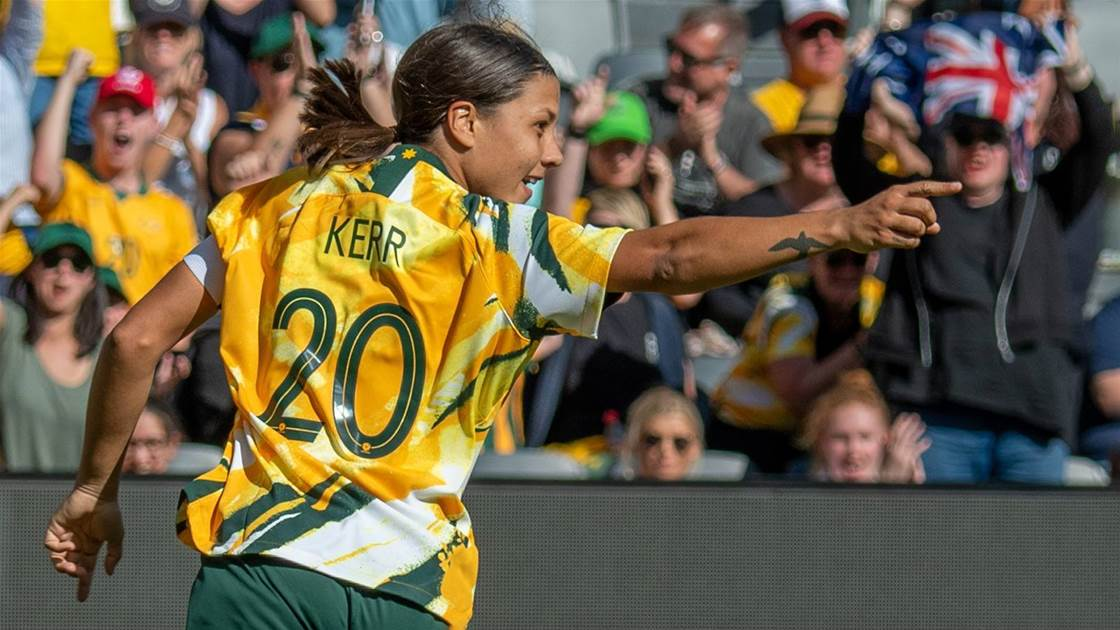 Sam Kerr primed for home World Cup glory