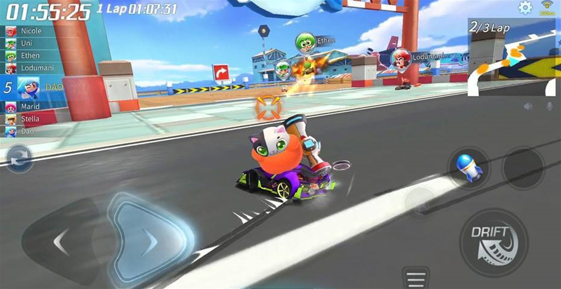 Playing Now: KartRider Rush+