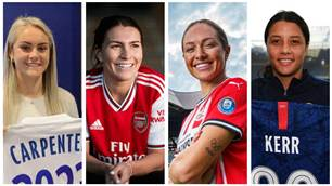 Every Matildas and W-League overseas transfer (so far)