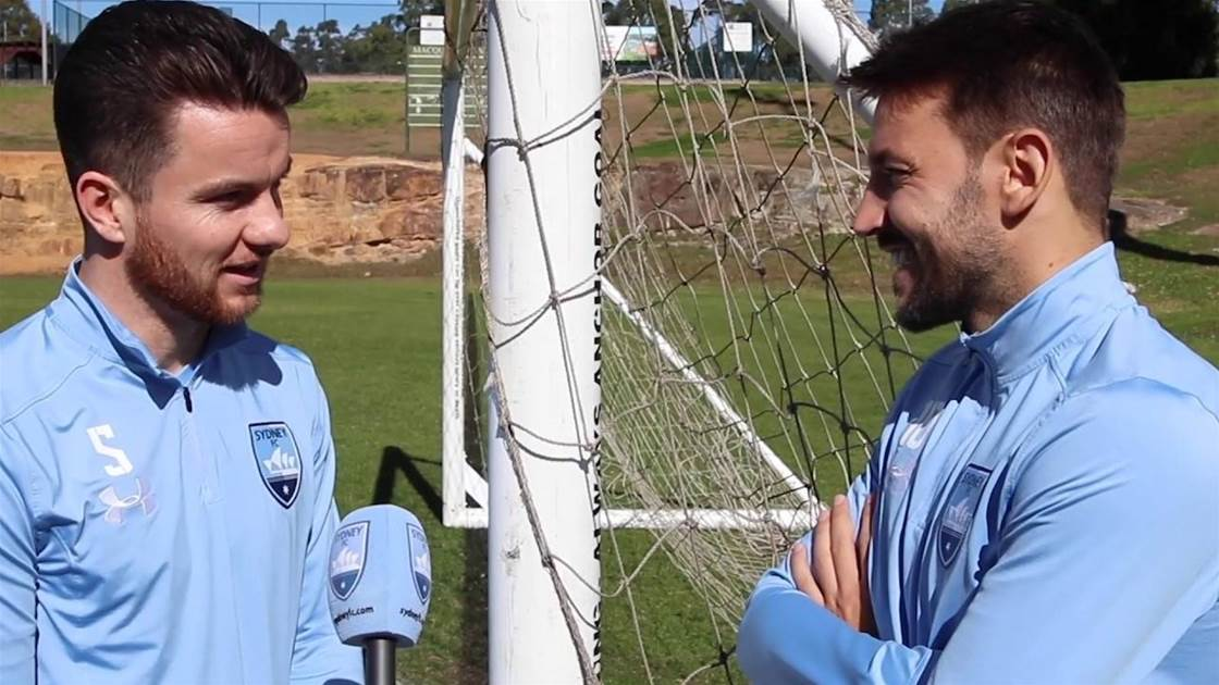 Baumjohann learning off Ninkovic 'every day'