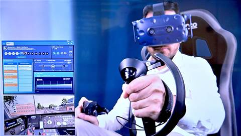 Metro Trains Australia turns to VR for driver training