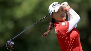 Minjee Lee in the mix behind Lydia Ko