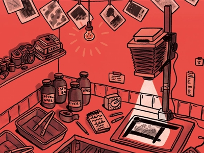 frankie's guide to building a darkroom at home