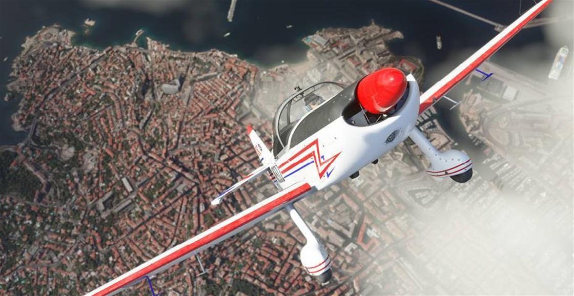 Playing Now: Microsoft Flight Simulator