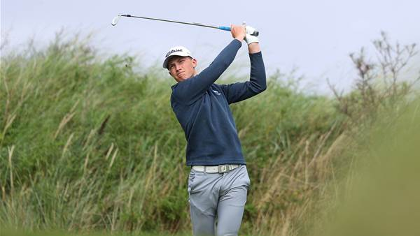 Lindsay leads qualifiers at The Amateur Championship
