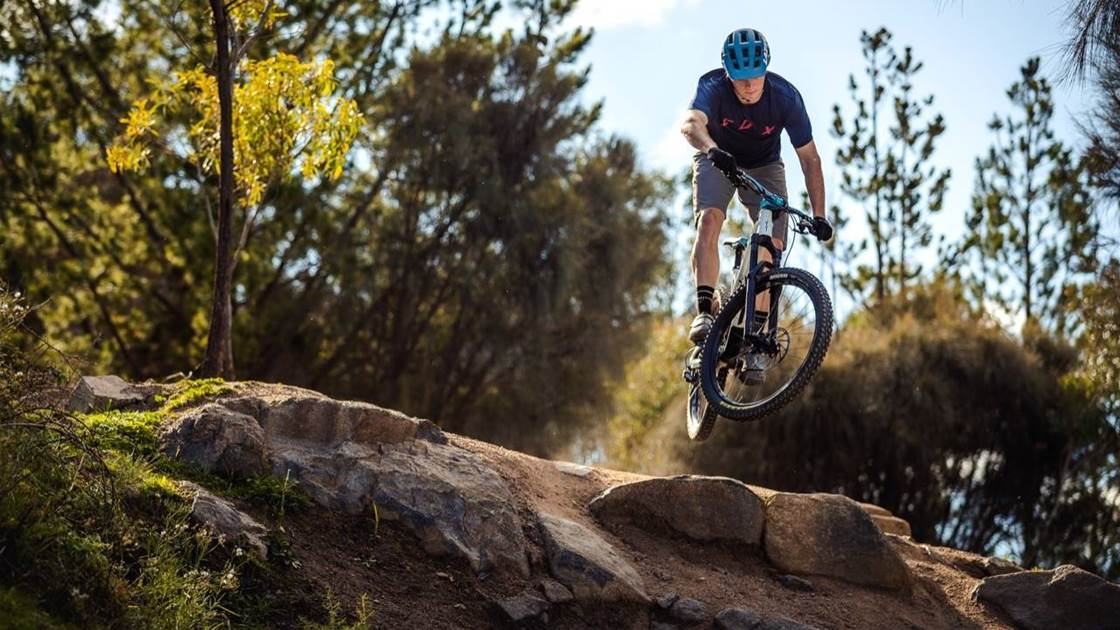 Trails in our own backyard: Stromlo Forest Park