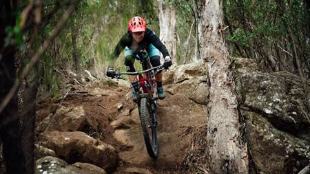 Trails in our own backyard: Hobart