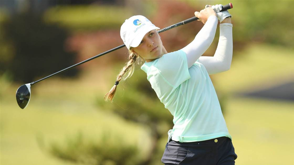 Two Australian women's golf events cancelled