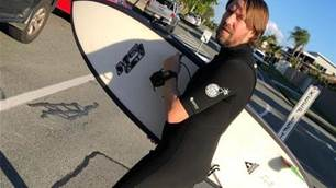 Adam White - Serious Commitment to Surfing
