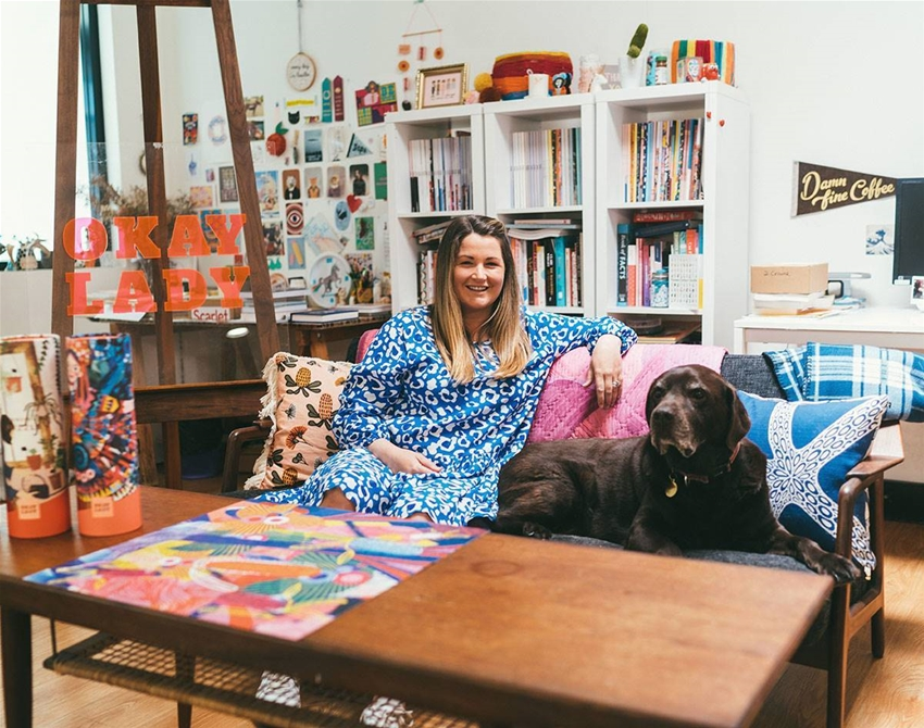 start-up money stories: kristy from okay lady