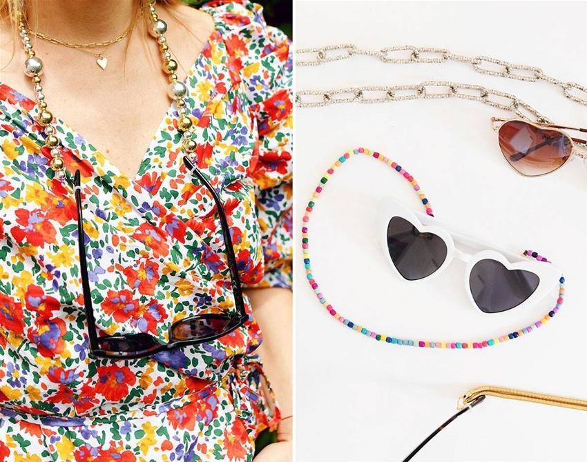 diy sunglasses chain