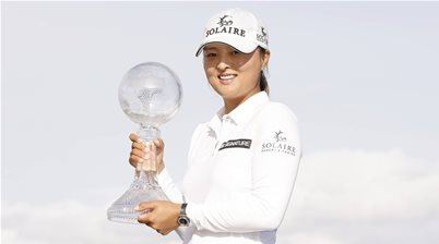 Green second as Ko wins LPGA finale