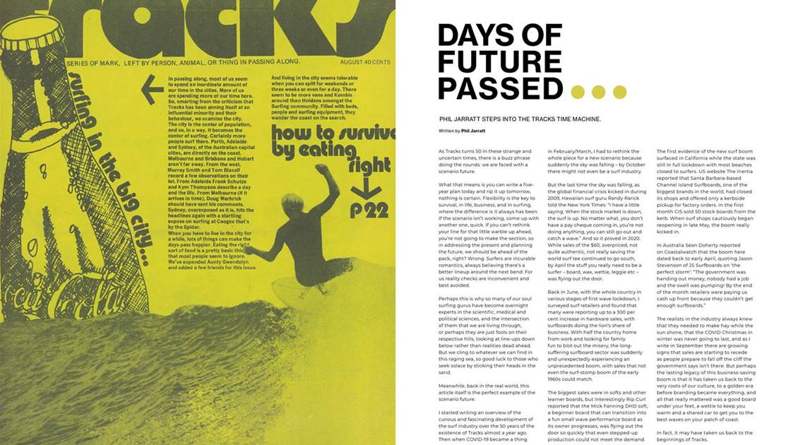 Surf Industry Evolution: Extract from Tracks 50th-anniversary Issue