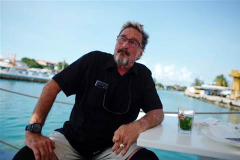 Antivirus pioneer John McAfee charged with cryptocurrency fraud