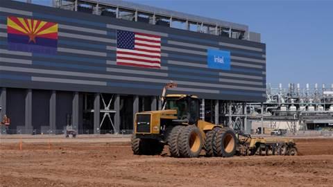 Intel breaks ground on US$20b plants