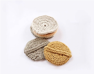 diy crochet face scrubbies