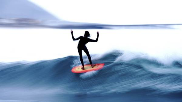 A Study of Surfboard Velocity