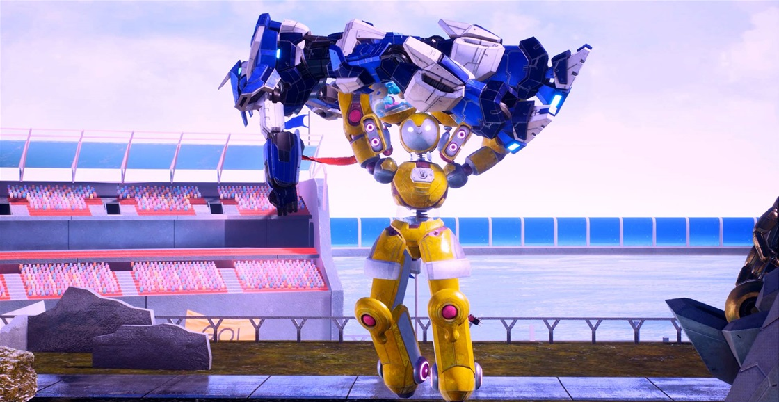 Playing Now: Override 2: Super Mech League
