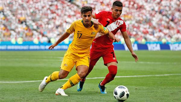 Socceroos' Arzani seals Danish club loan
