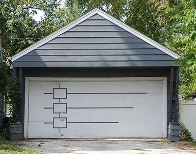 mid-century garage doors