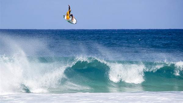 Flying High: 160 surfers and staff on the WSL plane from LA to Sydney