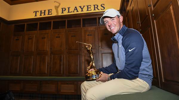 Two years later, McIlroy returns to defend Players title