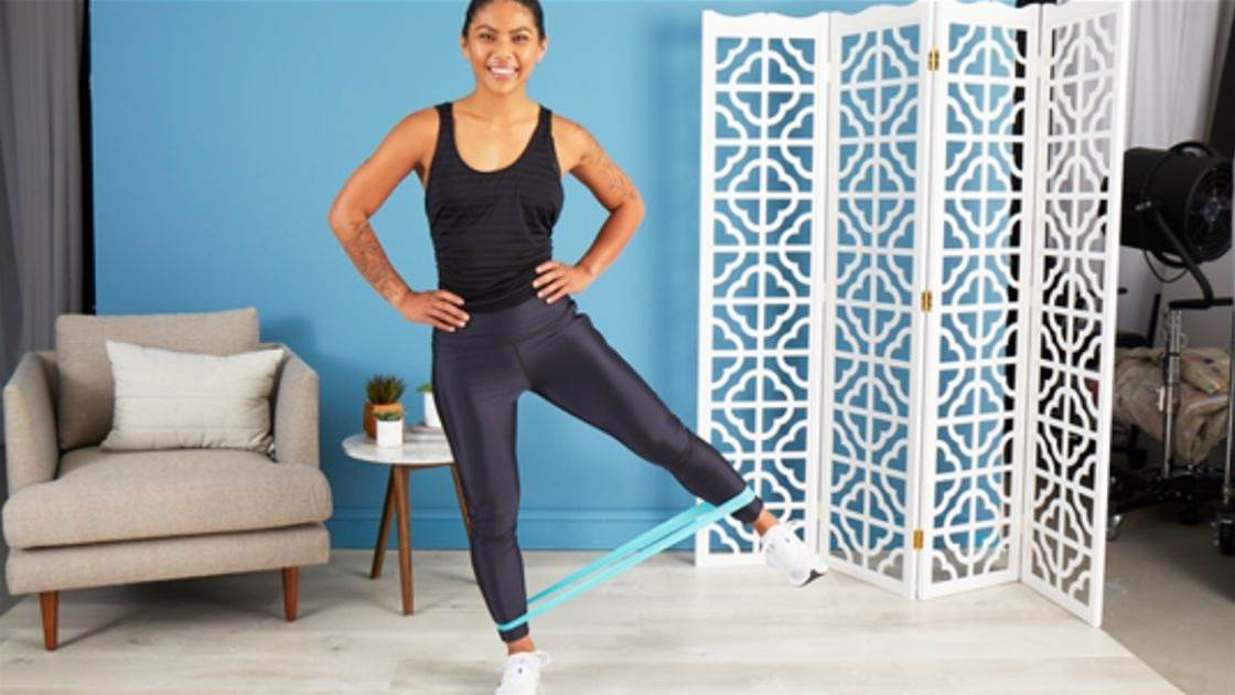 10 best resistance band exercises for strong, toned legs