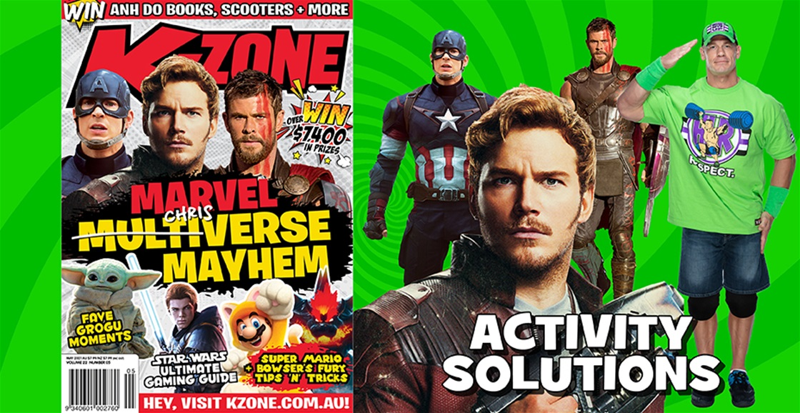 MAY 2021 ISSUE ACTIVITY SOLUTIONS