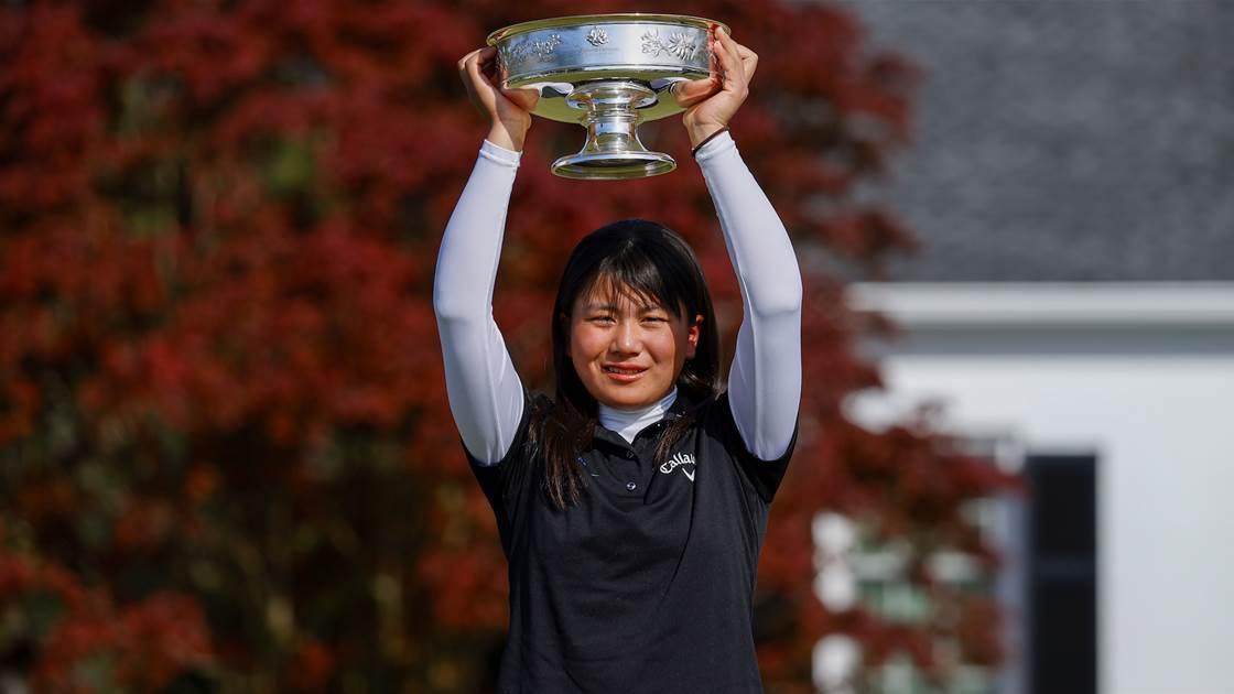 Tsubasa Kajitani wins Augusta National Women's Amateur