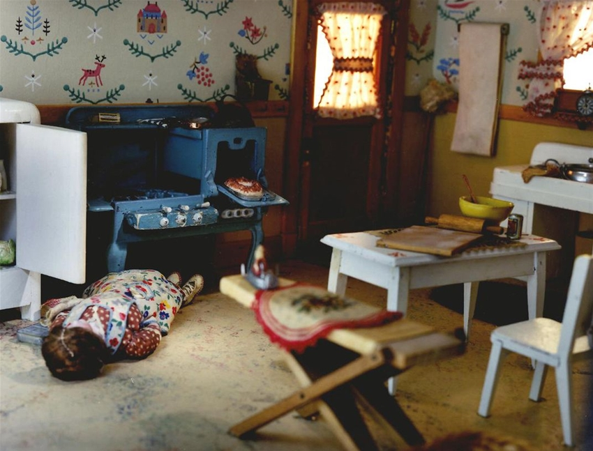 how dollhouses became part of modern crime studies
