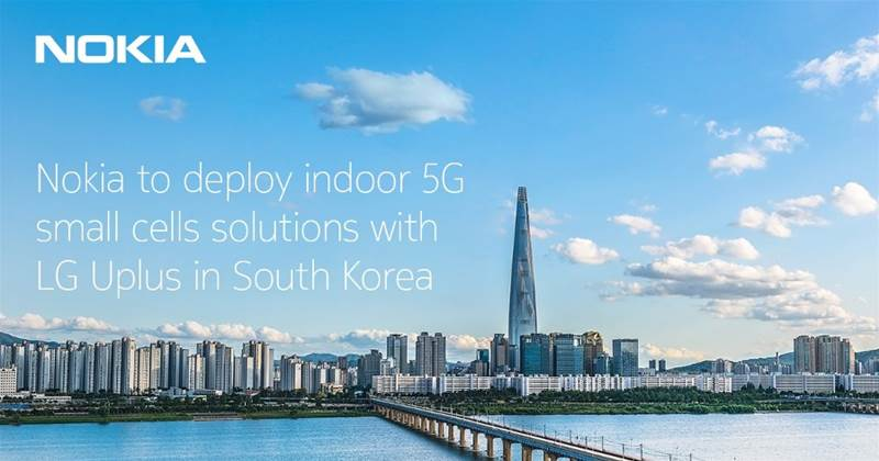 Nokia partners LG Plus to deploy indoor 5G small cells solutions in South Korea