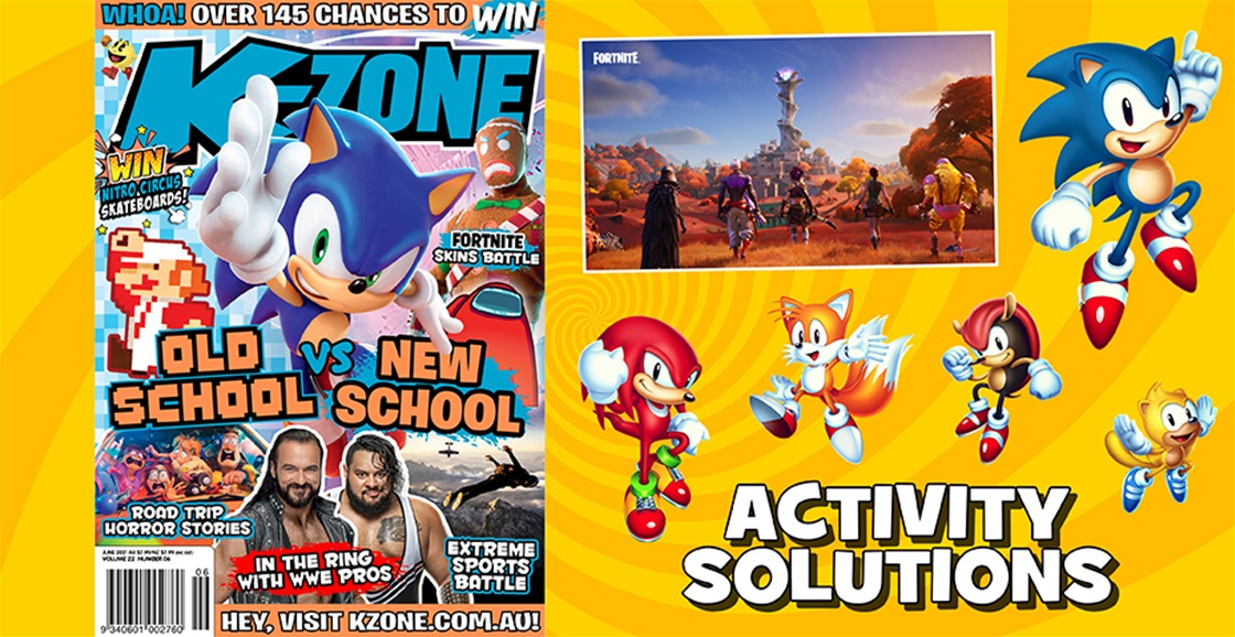 JUNE 2021 ISSUE ACTIVITY SOLUTIONS