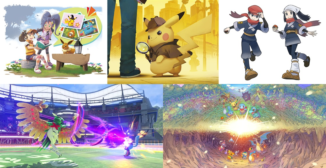 Celebrate 25 Years With These Pokémon Games