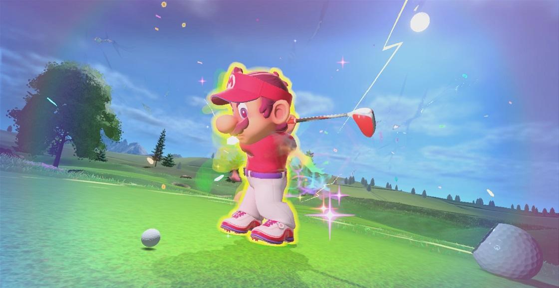 Playing Now: Mario Golf: Super Rush