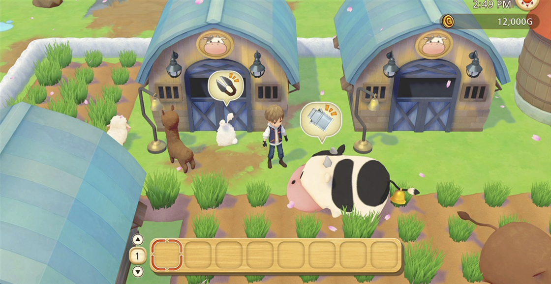Playing Now: Story of Seasons: Pioneers of Olive Town