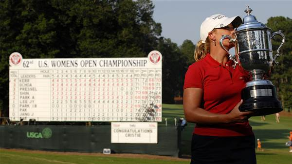 USGA announces special exemption for Cristie Kerr into the U.S. Women's Open
