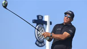 Aussie PGA tilt on edge as Mickelson soars