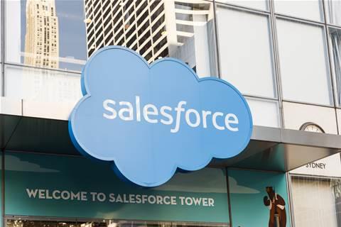 Salesforce beats quarterly revenue estimates