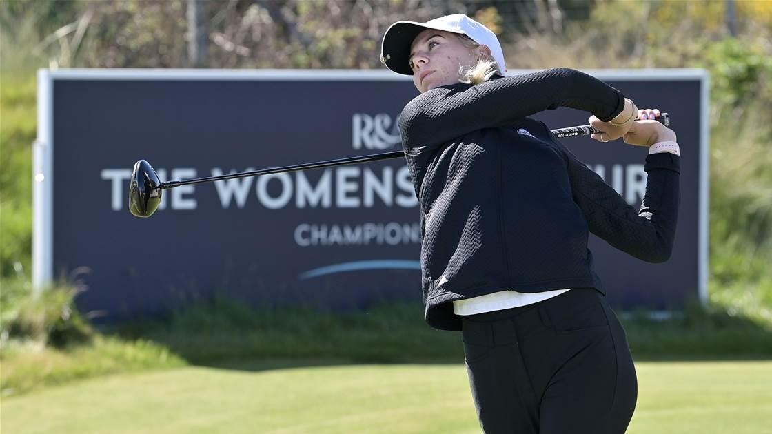 Fuller & Darling set up quarter-final match at Women's Amateur