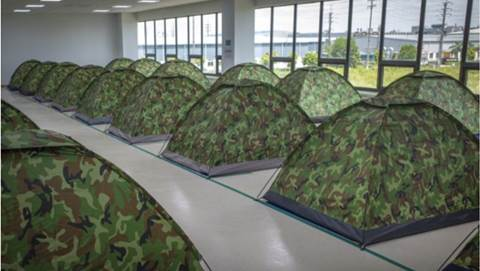 Vietnam workers sleeping on their factory floor to reduce COVID outbreaks