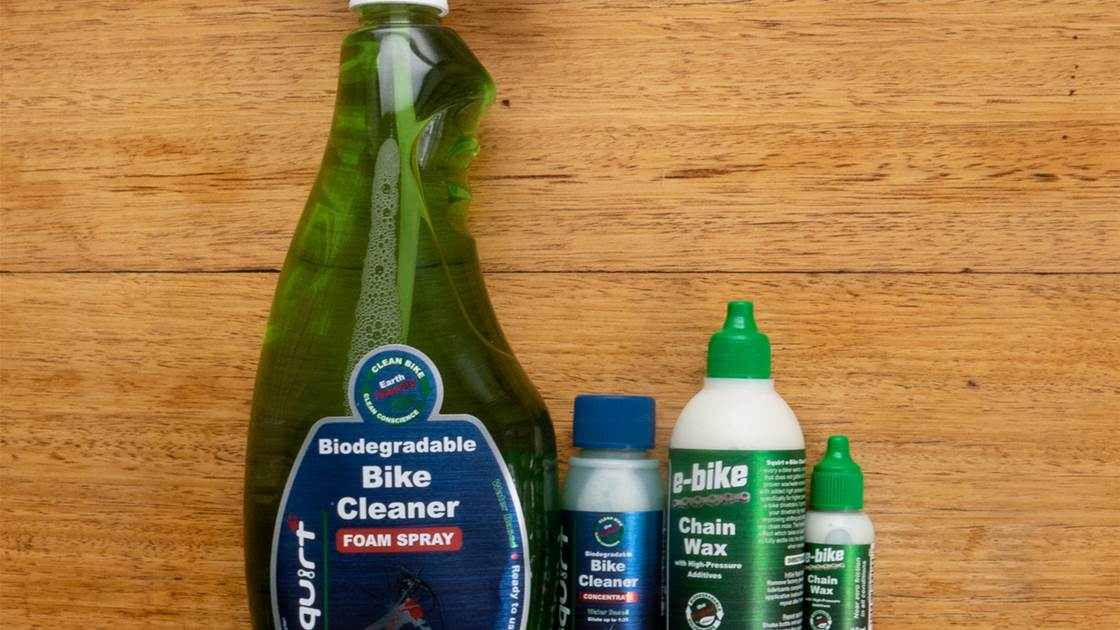 TESTED: Squirt eBike Chain Wax and Degreaser