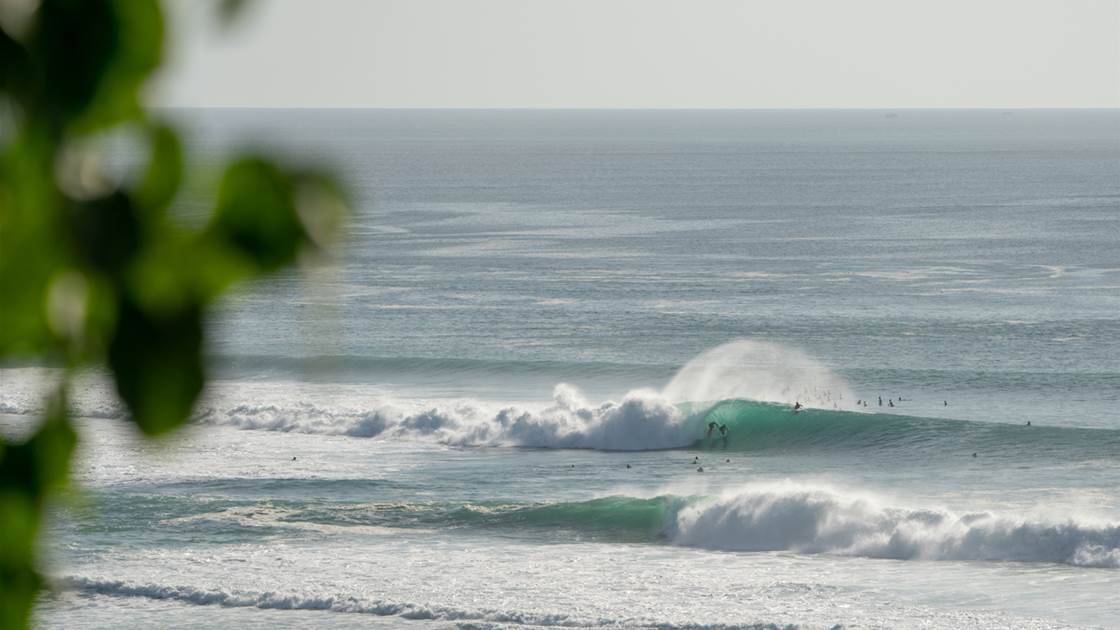 What happens when an 8-foot swell hits the Bukit during Lockdown?