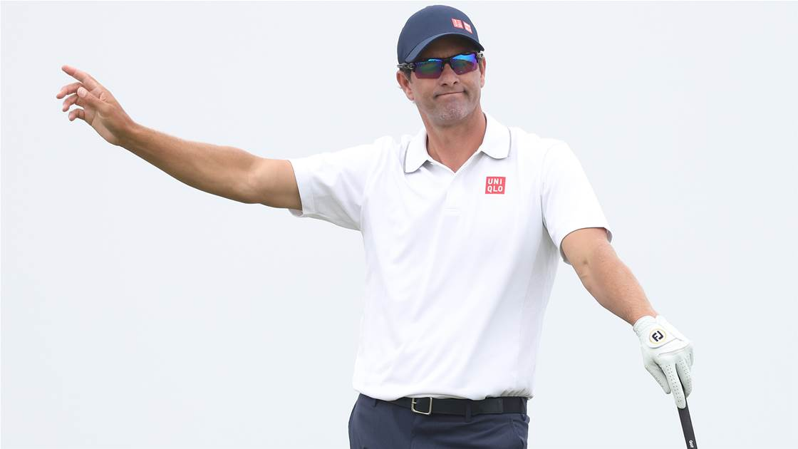 """Scott says he's tired of his """"mediocre golf"""""""