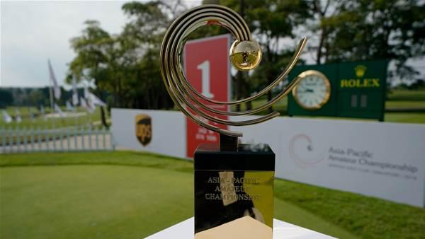 Asia-Pacific Amateur heads to Dubai
