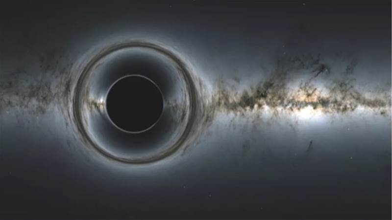 Light from a black hole? Einstein was right after all