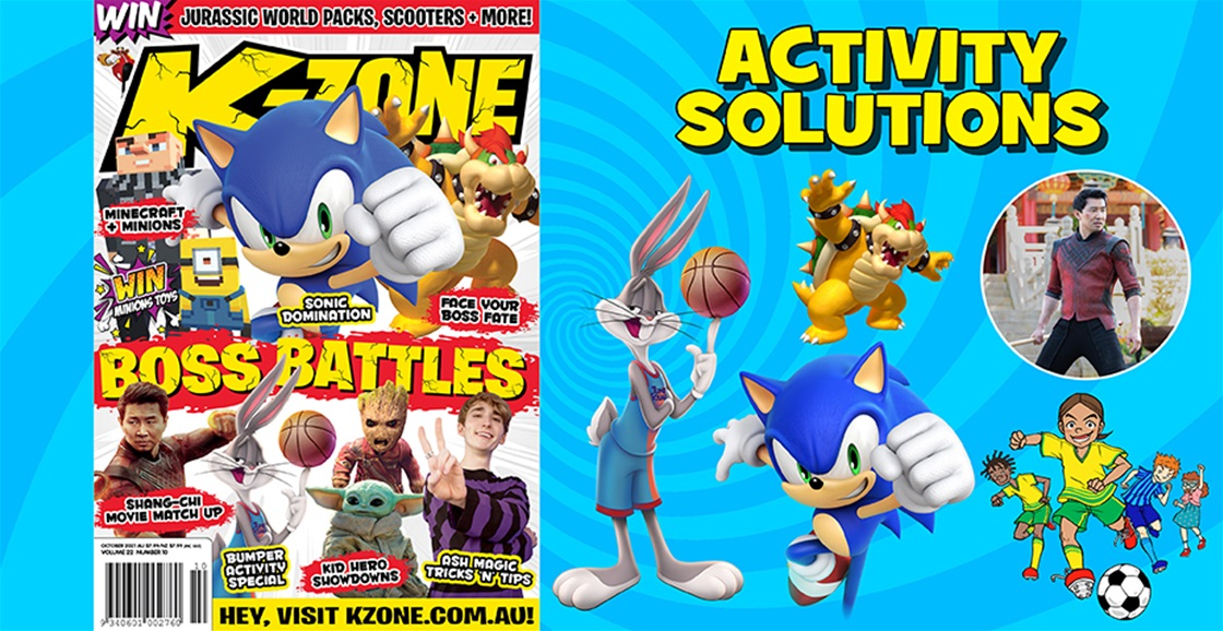 OCTOBER 2021 ISSUE ACTIVITY SOLUTIONS