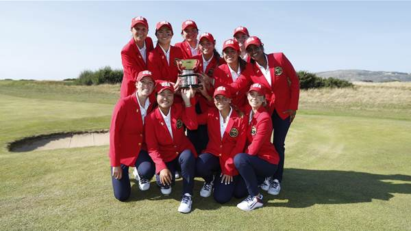 USA completes comeback Curtis Cup win