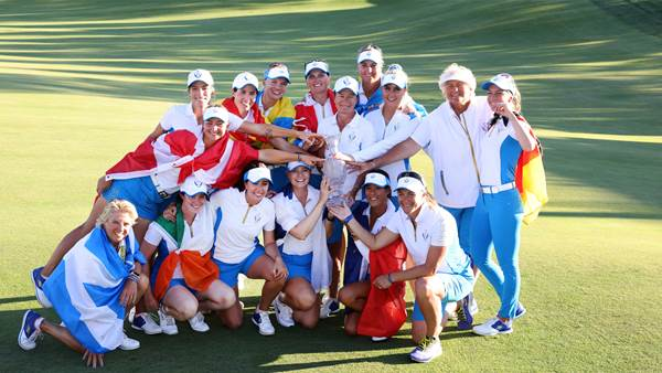 Europe win the Solheim Cup