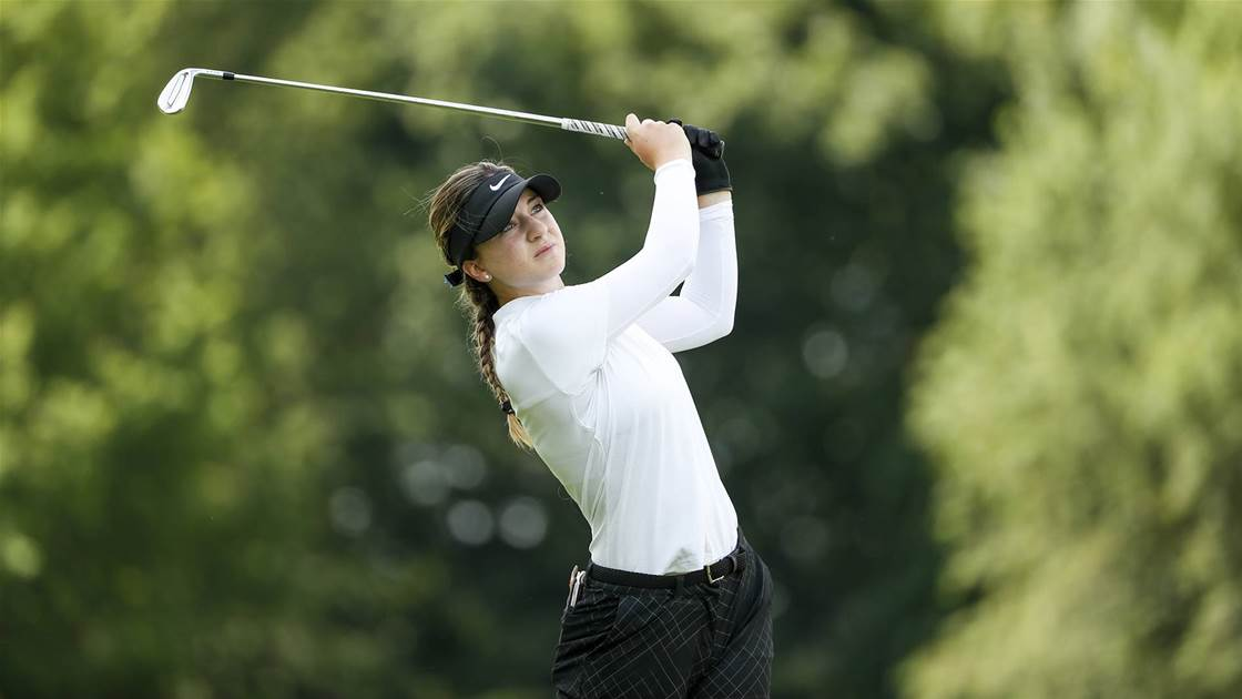 U.S Women's Amateur: Ruffels surges into quarter finals